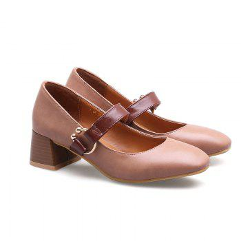 England Fashion Restoring Ancient Ways Shoes - PINK 34