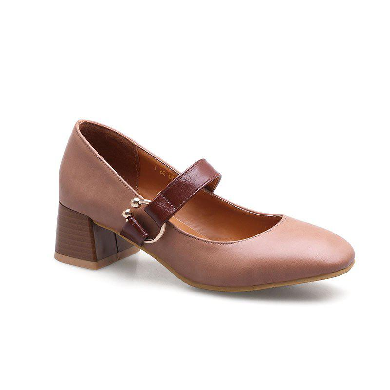 England Fashion Restoring Ancient Ways Shoes - PINK 36