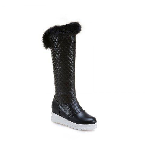 In Autumn and Winter The New Boots of Female Boots - BLACK 38