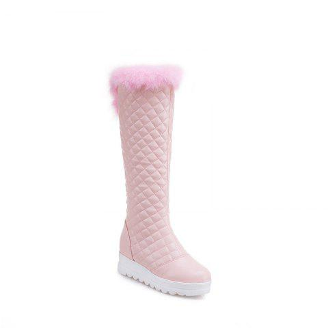 In Autumn and Winter The New Boots of Female Boots - PINK 35