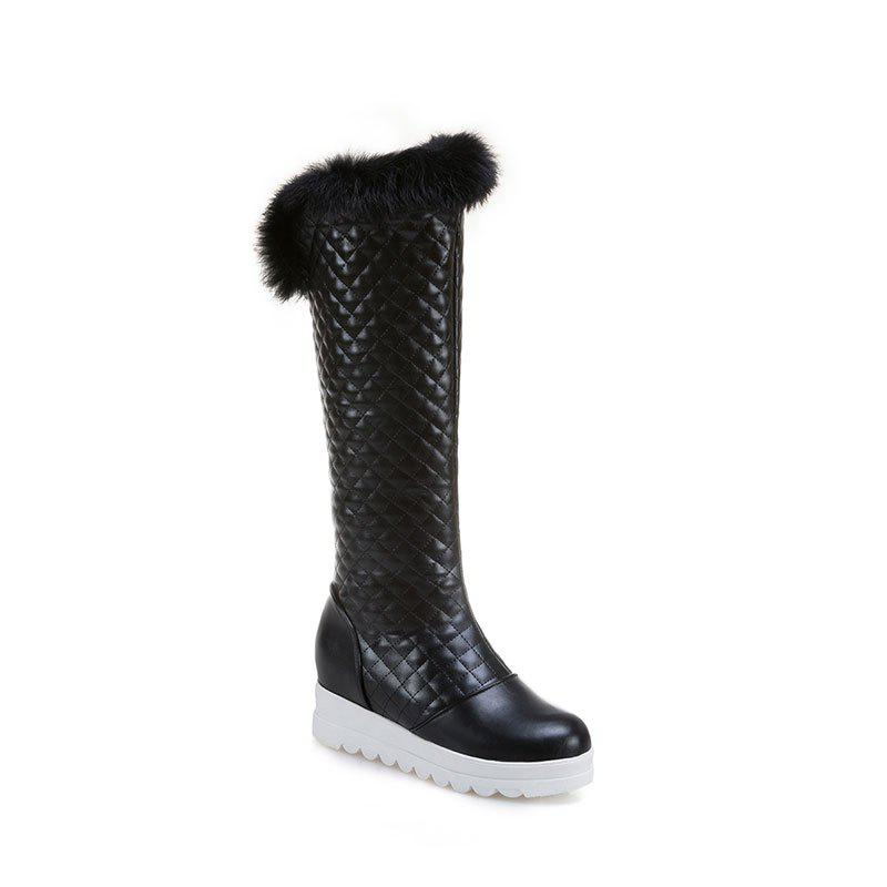 In Autumn and Winter The New Boots of Female Boots - BLACK 39