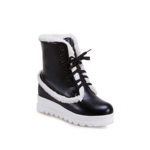 New Style of Fashion Women's Snow Boot - BLACK 35