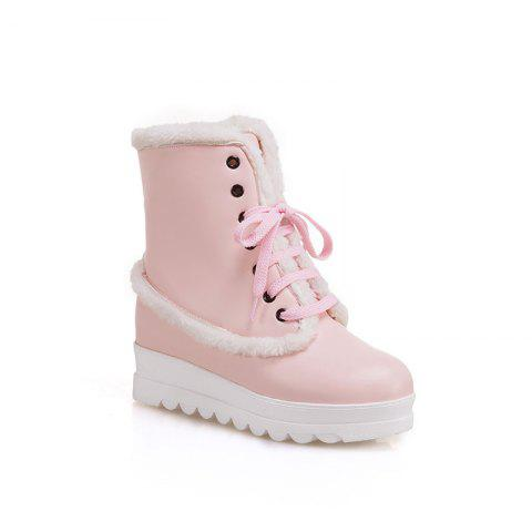 New Style of Fashion Women's Snow Boot - PINK 36