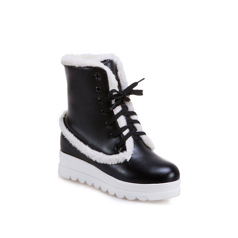 New Style of Fashion Women's Snow Boot - BLACK 36
