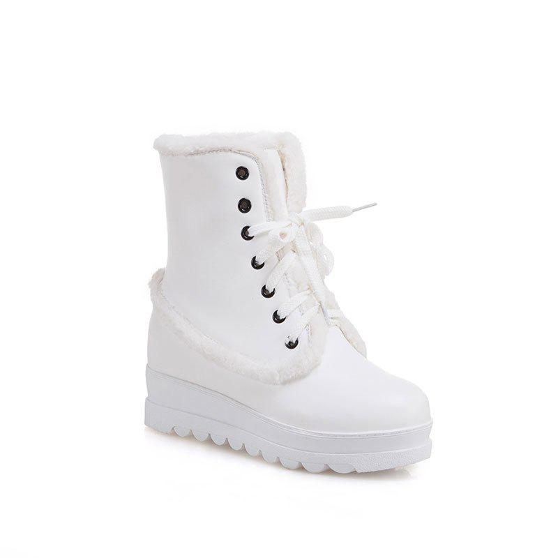 New Style of Fashion Women's Snow Boot - SNOW WHITE 37