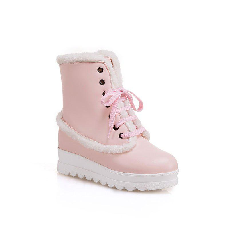 New Style of Fashion Women's Snow Boot - PINK 34
