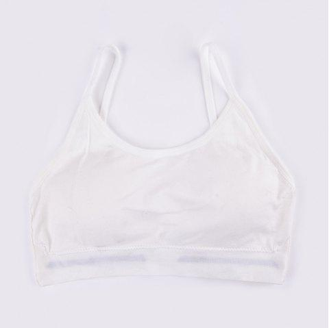 New Fashion Sexy Sports Crop Top Bra for Every Beauty - WHITE 1001 ONE SIZE