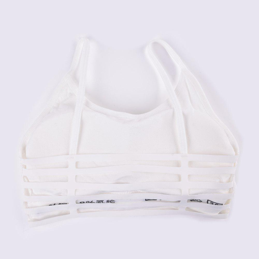New Fashion Sexy Sports Crop Top Bra for Every Beauty - WHITE ONE SIZE