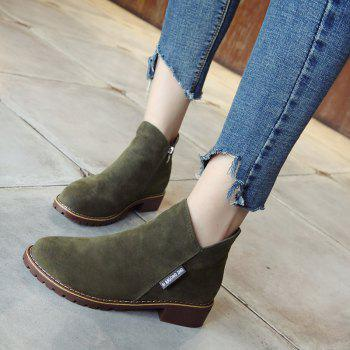 Winter New British Style Martin Short Boots Fashion Women's Shoes - FERN FERN