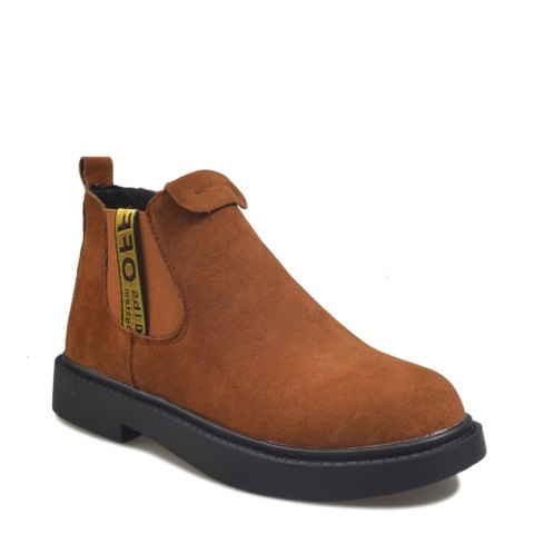New Winter Boots A British Style Fashion Flat Keel Martin Wedgie - DAISY 38