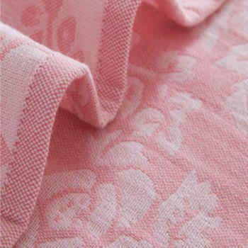 Cotton Towel Blanket for Autumn Spring - PINK