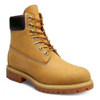 Men's Leather Waterproof Boots