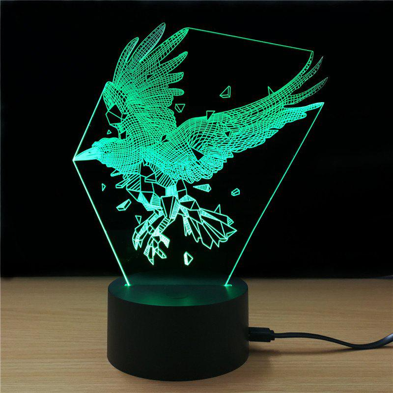 M.Sparkling TD311 Creative Abstract 3D LED Lamp golf 3 td 2011