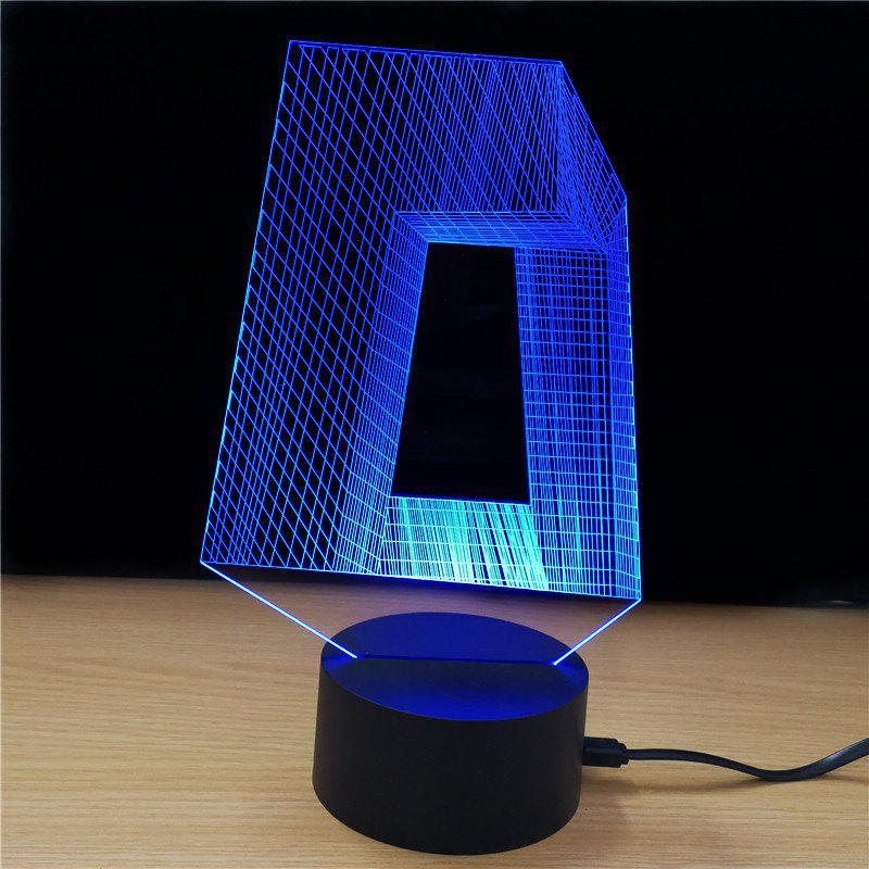 M.Sparkling TD312 Creative Abstract 3D LED Lamp golf 3 td 2011