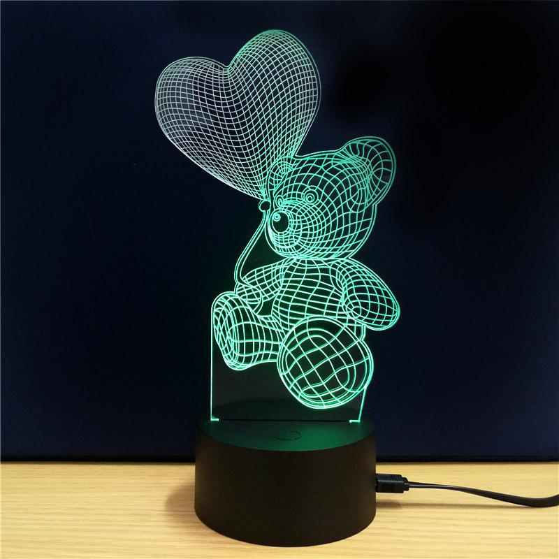 M.Sparkling TD106 Creative abstract 3D LED Lamp m sparkling td303 creative cartoon 3d led lamp