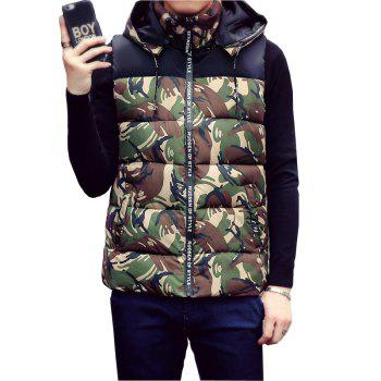 Male and Female Couple Hooded Vest - IVY IVY