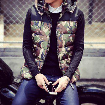 Male and Female Couple Hooded Vest - IVY L