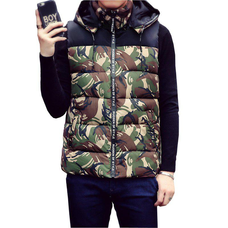 Male and Female Couple Hooded Vest - IVY M
