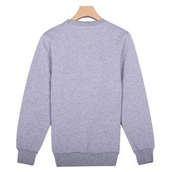 General Sports Men and Women Sweater - OYSTER 3XL