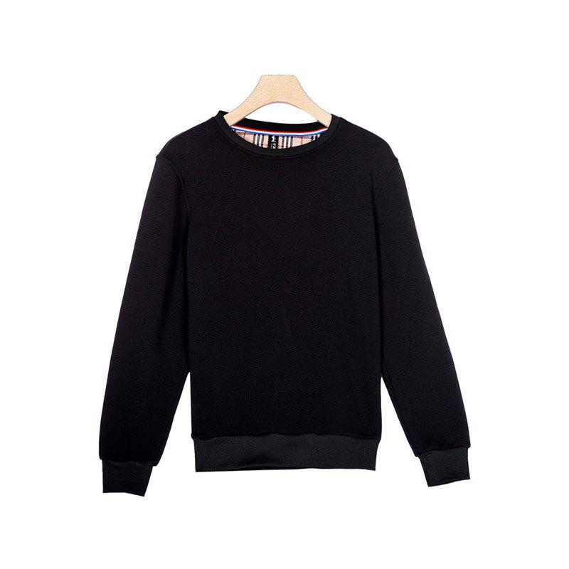 General Sports Men and Women Sweater - BLACK 2XL