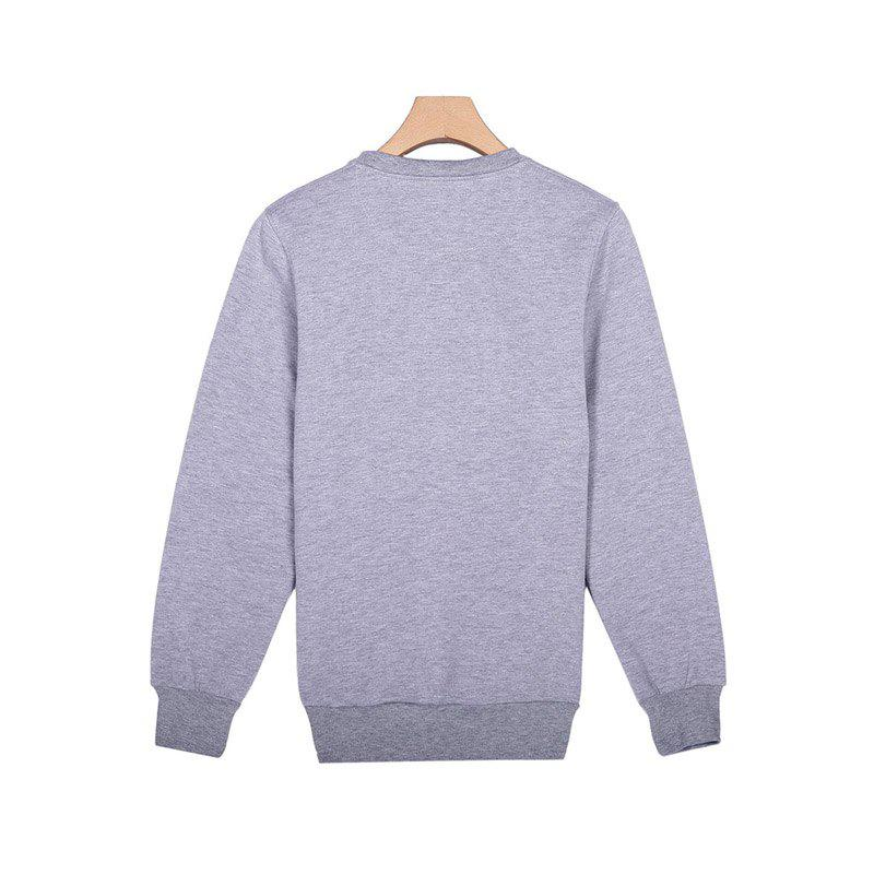 General Sports Men and Women Sweater - OYSTER XL