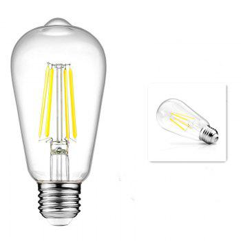 KWB LED Filament Edison Bulb 2700K Warm White 4W / 6W / 8W 2PCS - WARM WHITE LIGHT WARM WHITE LIGHT
