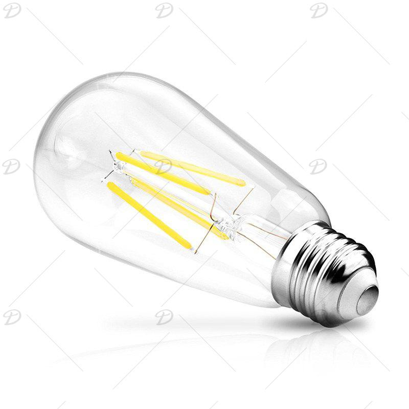 KWB LED Filament Edison Bulb 2700K Warm White 4W / 6W / 8W 2PCS - WARM WHITE LIGHT 8W 220V