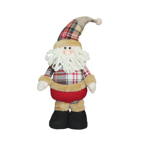 WS0202 Santa Snowman Doll Children Gifts Decor Creative Novelty Reindeer - COLORMIX STYLE 1