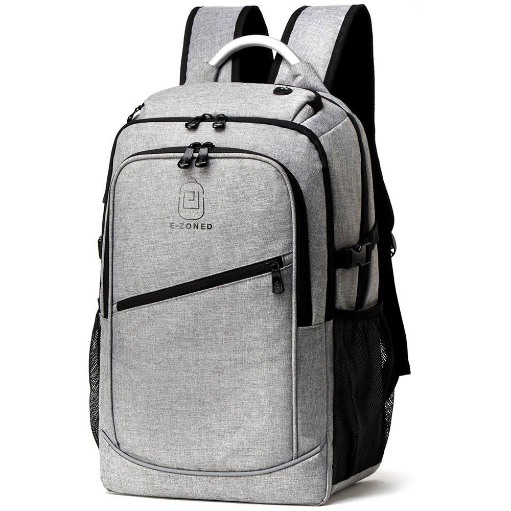Men'S Business Computer Bags Casual Backpack - GREY