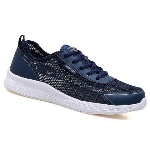 Super Light Breathable Sneakers - DEEP BLUE 43