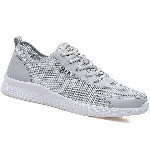 Super Light Breathable Sneakers - GRAY 42