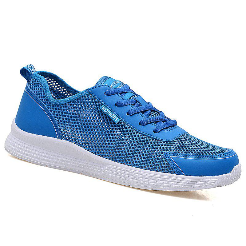 Super Light Breathable Sneakers - LIGHT BLUE 40
