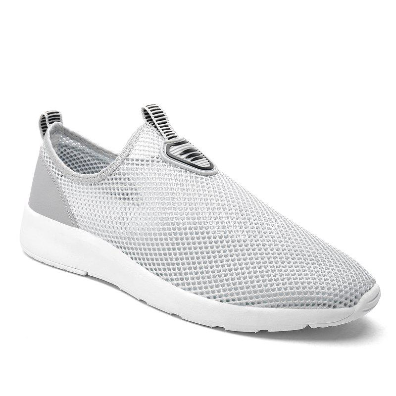 Slip on Light Breathable Sneakers - GRAY 45