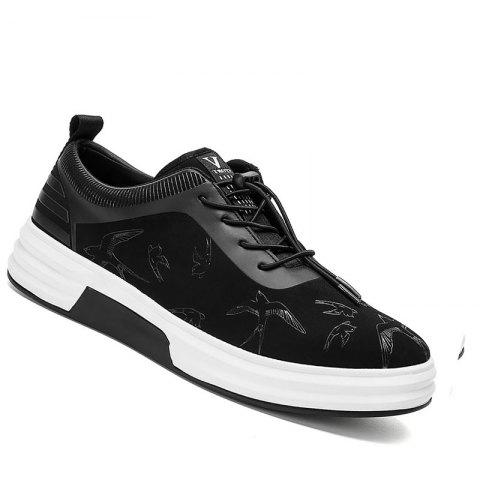 New Arrival Classics Style Men Running Sport Outdoor Jogging Walking Athletic Shoes39-44 - BLACK 40