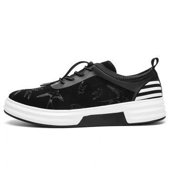 New Arrival Classics Style Men Running Sport Outdoor Jogging Walking Athletic Shoes39-44 - BLACK WHITE 43