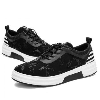 New Arrival Classics Style Men Running Sport Outdoor Jogging Walking Athletic Shoes39-44 - BLACK WHITE 41