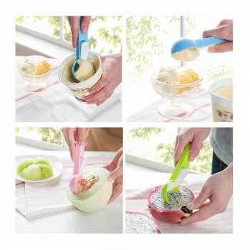 Creative Cute Ice Cream Scoop - GREEN