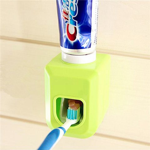 Creative Stickup Toothpaste Squeezer - GREEN