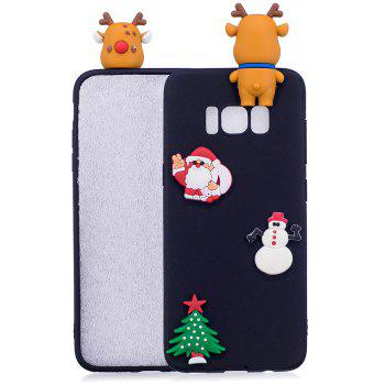 Fashionable Christmas Deer Silicone Case for Samsung Galaxy S8