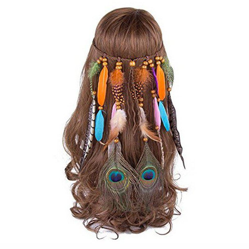 Bohemian Headdress Europe and The United States Gypsy Indian Feather Hair Ornaments 234367401