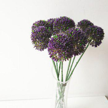 LmDec Modern Artificial Flower for Home Decoration -  PURPLE