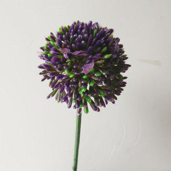 LmDec Modern Artificial Flower for Home Decoration - PURPLE PURPLE