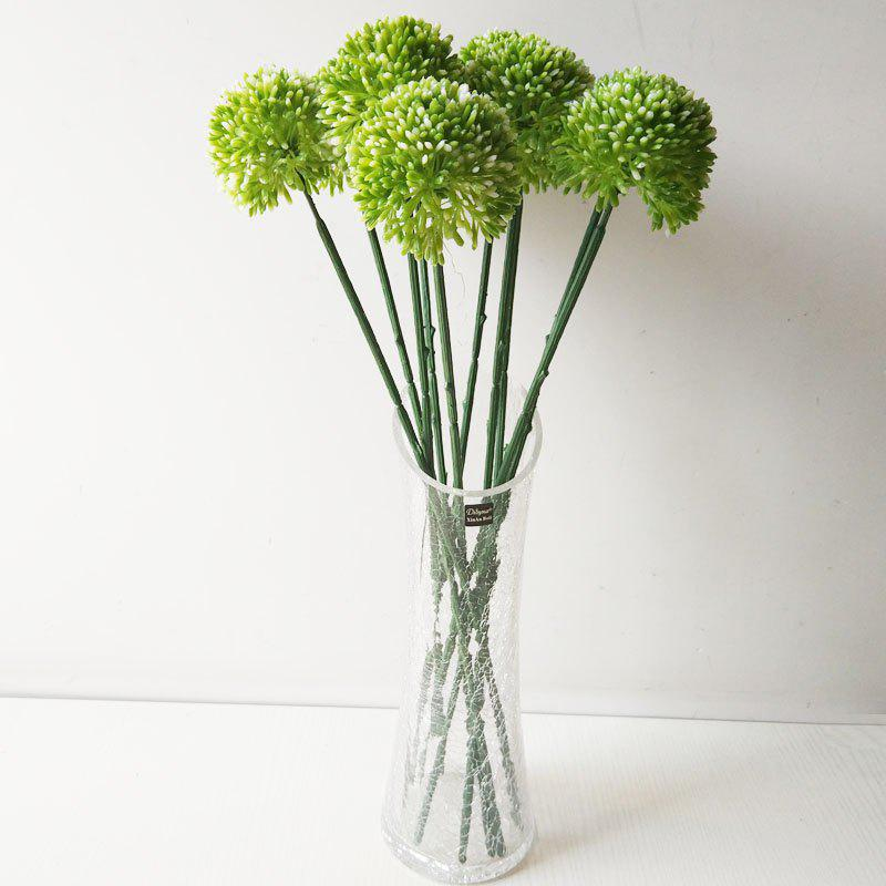 LmDec Modern Artificial Flower for Home Decoration - GREEN