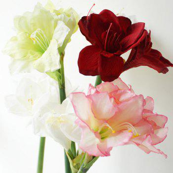 LmDec Modern Orchid Artificial Flower for Home Decoration -  RED