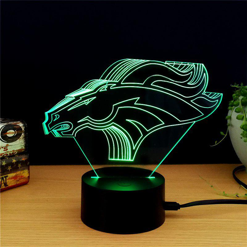 M.Sparkling TD165 Creative Mark 3D LED Lamp m sparkling td303 creative cartoon 3d led lamp