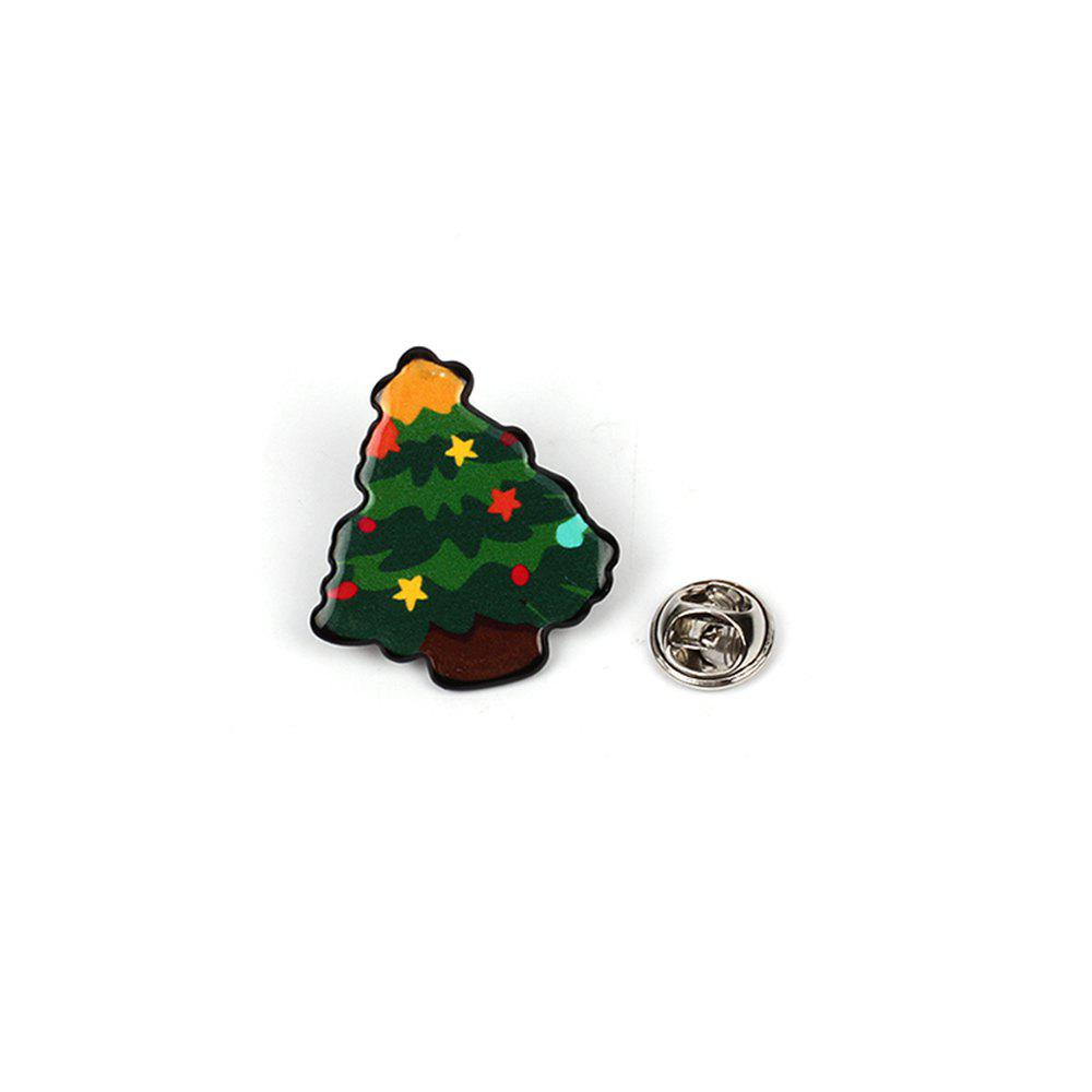 2017 Fashion Christmas Combination Brooch Lady Jewelry - multicolorCOLOR 1 SET