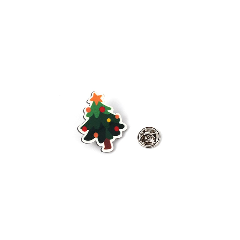 4pcs  Europe And The United States Popular Santa Claus Cartoon Series  Ladies Brooch - multicolorCOLOR 1 SET