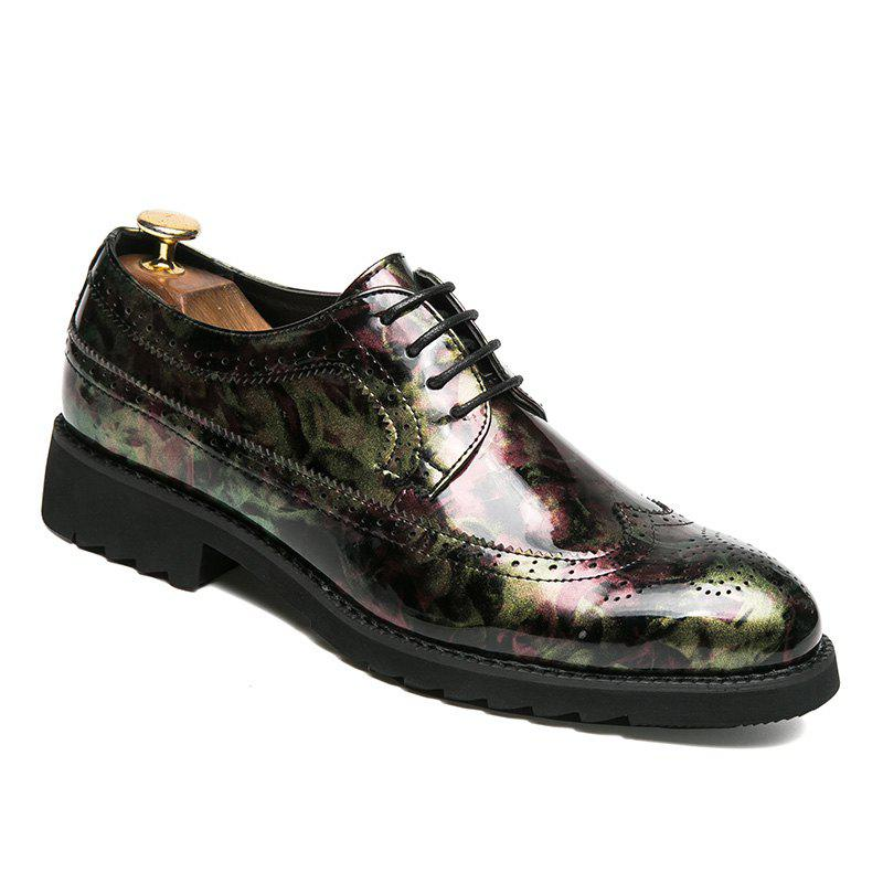Hommes Casual Mode Voyage en plein air Business Couleur Chaud Chaussures Taille 38-43 - Rouge 38