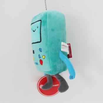 Creative BMO Style Plush Doll Stuffed Toy - DEEP GREEN DEEP GREEN