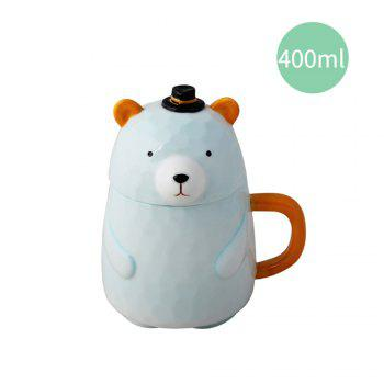 400ML Creative Ceramic Mug - APPLE SLICE